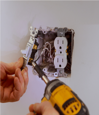 fixing-loose-outlet