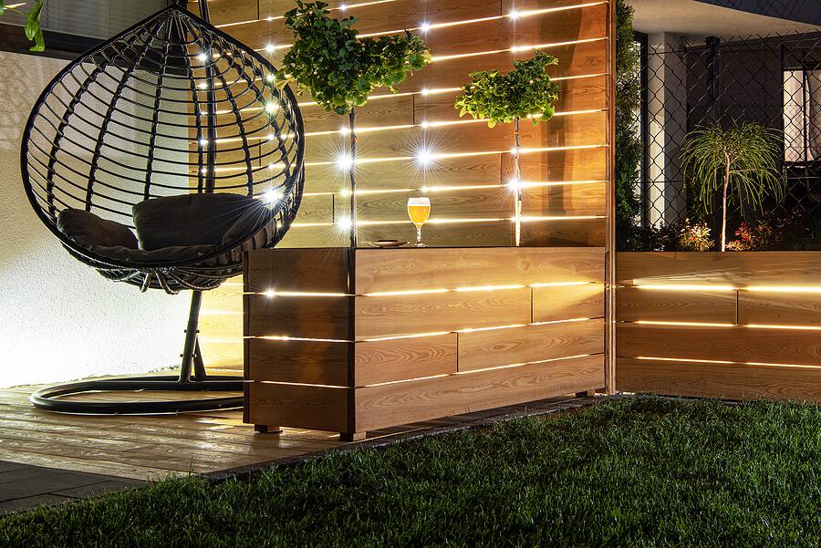 Deck Lighting Idea