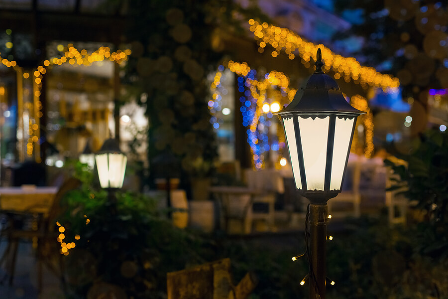 Garden Lantern Light